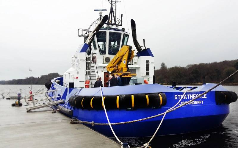 Strathfoyle (Photo: Damen Shipyards)