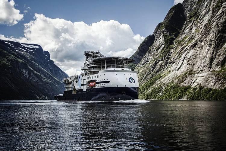 Subsea vessel Island Performer (Photo: Ulstein)