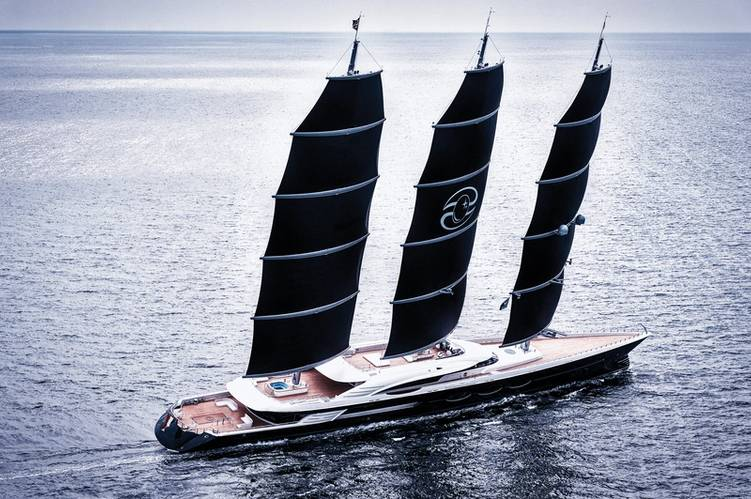 S/Y Black Pearl Photo courtesy of Oceanco