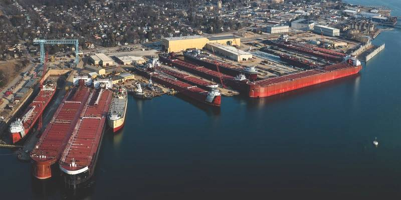 The 2016 Winter Fleet. (Photo: Bay Shipbuilding)