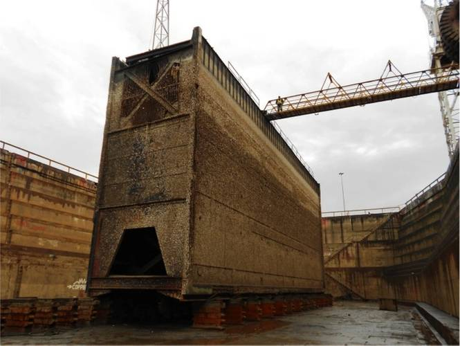 Durban s 90 year old dry dock set for repair for Caisson maritime