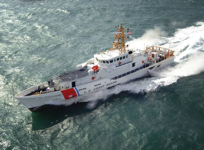 The Bollinger built Fast Response Cutter. Bollinger has years of experience with the U.S. Coast Guard.