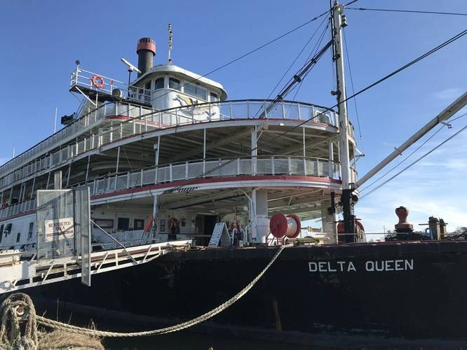 The Delta Queen (CREDIT: Delta Queen Steamship Company)