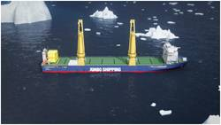 The design of the K-3000 incorporates Finnish-Swedish ice class 1A. (Photo: Jumbo Shipping)