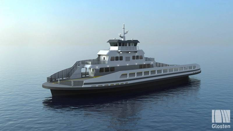 The electric passenger/vehicle ferry for Washington's Skagit County.   Photos: Glosten