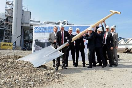 The groundbreaking ceremony at Plant 1 in Friedrichshafen marked the start of construction work on a new R&D test stand facility for Tognum subsidiary MTU Friedrichshafen.