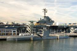 The Intrepid Sea, Air & Space Museum in Manhattan