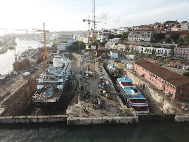 The Navalrocha shipyard. Photo courtesy of Navalrocha shipyard)