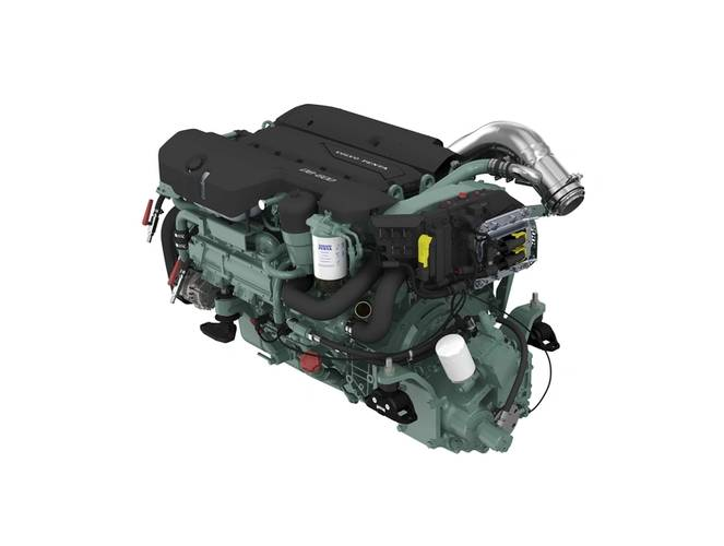 The new D8. (Photo: Volvo Penta)