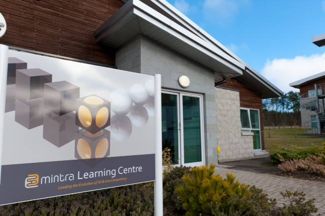 The new Mintra Learning Centre at Kingseat Business Park, Newmachar