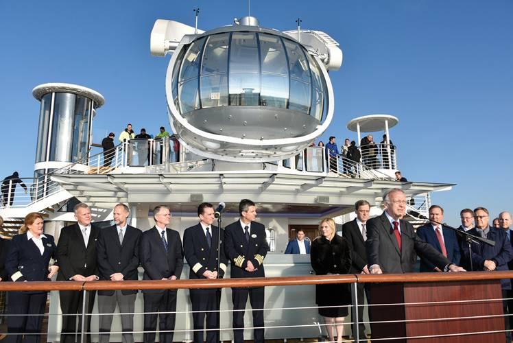 "The ""North Star"" glass gondola. (Photo: RCL)"