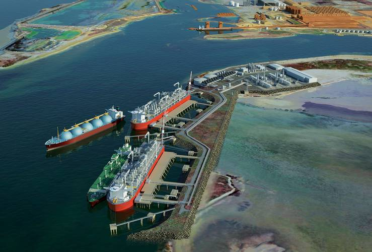 The overall capital cost of the (Lavaca Bay) project right now is between $2.5-2.6B. The vessel itself is about $1.5-1.6B with the balance representing the costs of the dredging, jetty construction, and other land based gas process and support equipment.