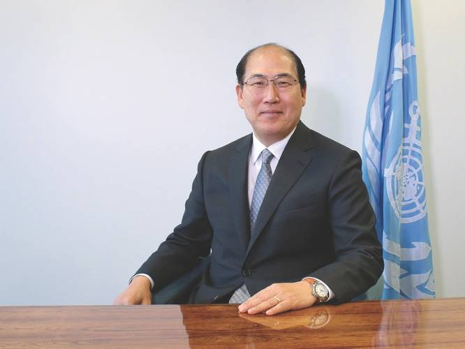 """The reductions in sulfur oxide emissions resulting from the lower global sulfur cap are expected to have a significant beneficial impact on the environment and on human health."" -Kitack Lim, Secretary-General, International Maritime Organization (IMO) (Photo: IMO)"