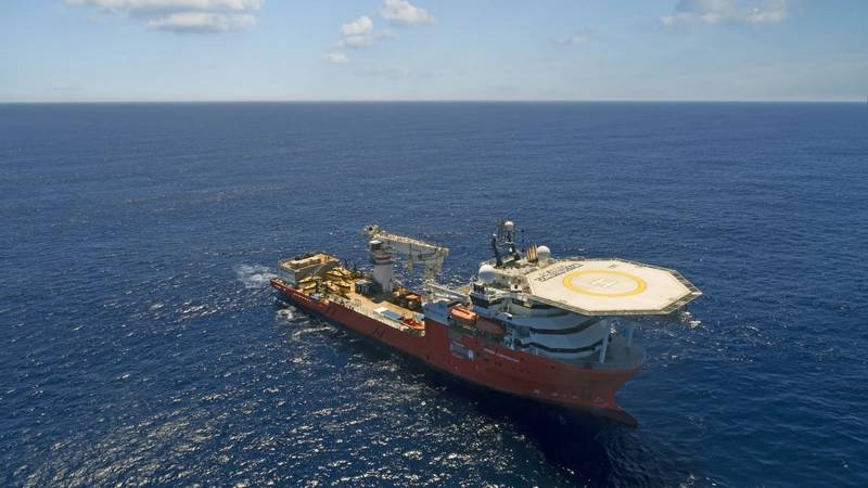 The Seabed Constructor was used in the search for the San Juan. Source: Ocean Infinity