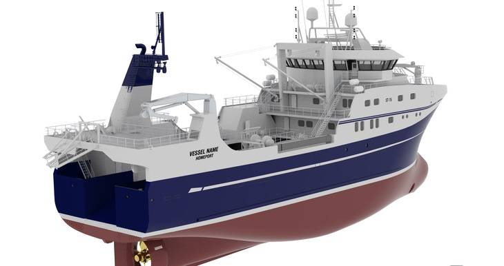 The ST-116 design is to be delivered to the Russian shipowner Agricultural Processing Cooperative Fishing Collective Farm ANDEG.
