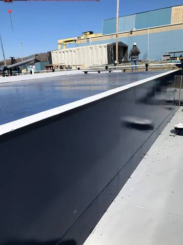 The topside deck and other walkable surfaces of the new barges feature a non-skid aluminum oxide coating system to enhance operator safety.