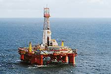 The Transocean Leader drilling rig. (Photo: Harald Pettersen)