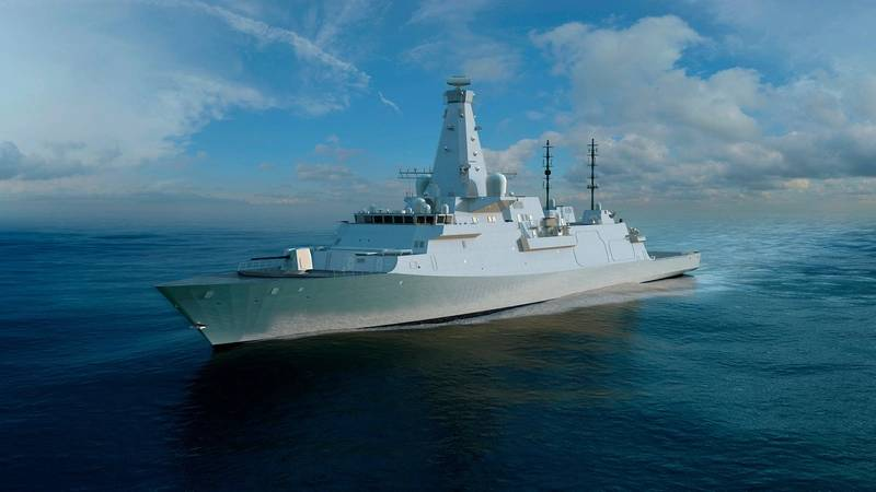 The Type 26 Global Combat Ship (courtesy BAE Systems)