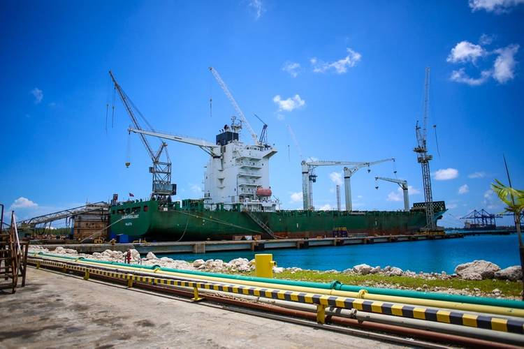 Thomas Schulte Ship Management - Bomar Resilient (Photo: Grand Bahama Shipyard)