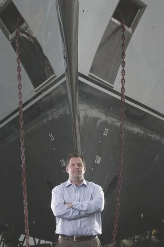 Todd Roberts (Photo: Marine Group Boat Works)