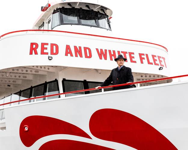 Tom Escher, owner, Red and White Fleet