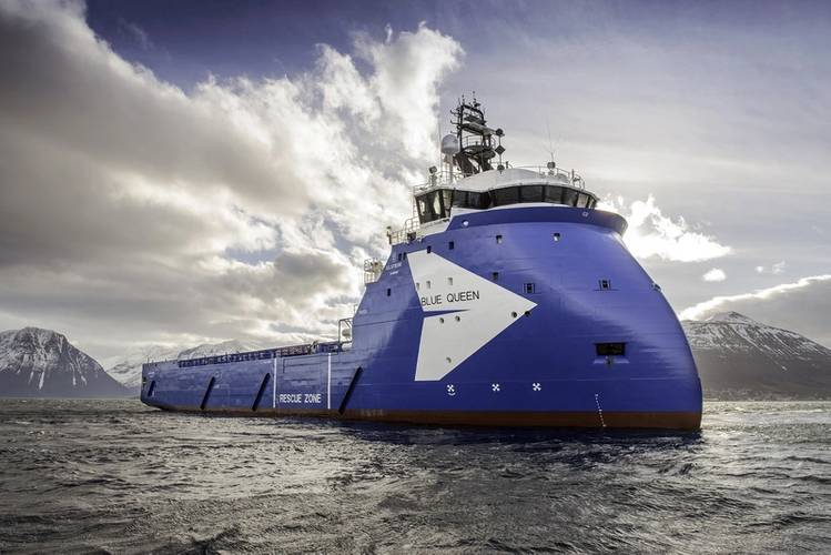 Ulstein Delivers PSV Blue Queen   While the most recent bull run of oil prices brought many new faces to the field, Ulstein is a long-term proven commodity. Pictured here is the Platform Supply Vessel (PSV) Blue Queen, of Ulstein's PX121 design. It was delivered to Blue Ship Invest from Ulstein Verft on February 24, 2015. This vessel is the first of two for which Norway-based Golden Energy offshore is awarded the ship management contract. (Photo Ulstein)