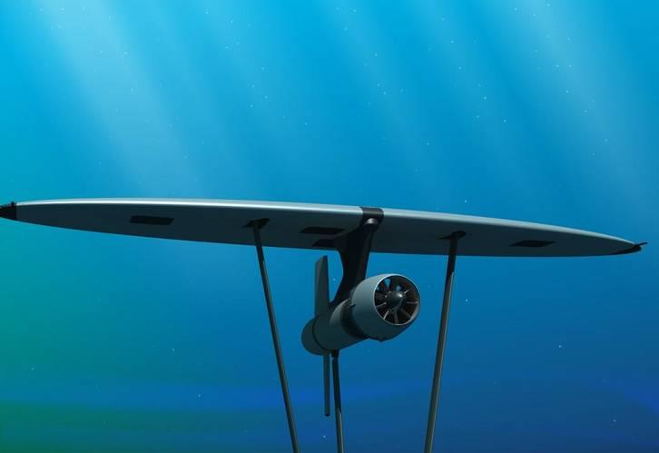 Underwater Kite
