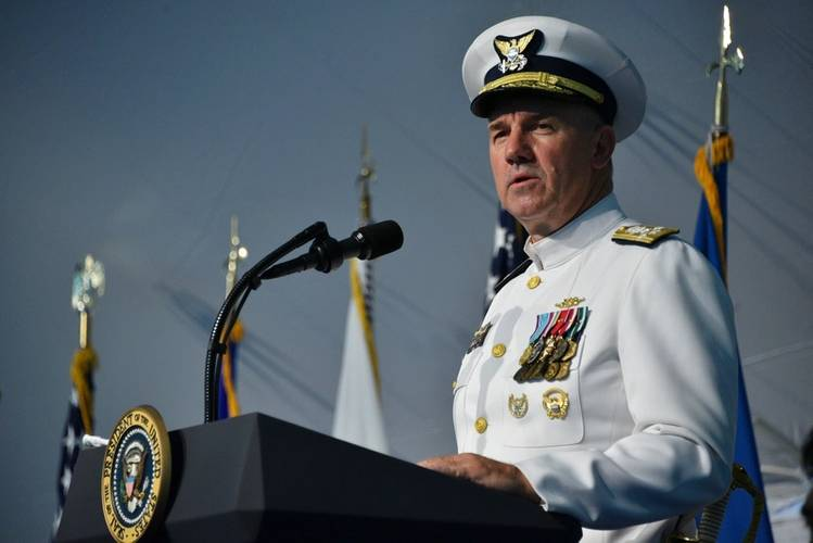 U.S. Coast Guard Commandant Karl Schultz