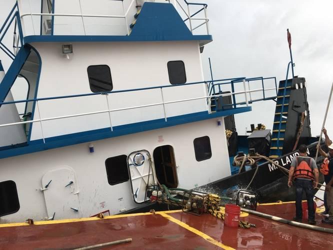 U.S. Coast Guard photo by Marine Safety Unit Lake Charles