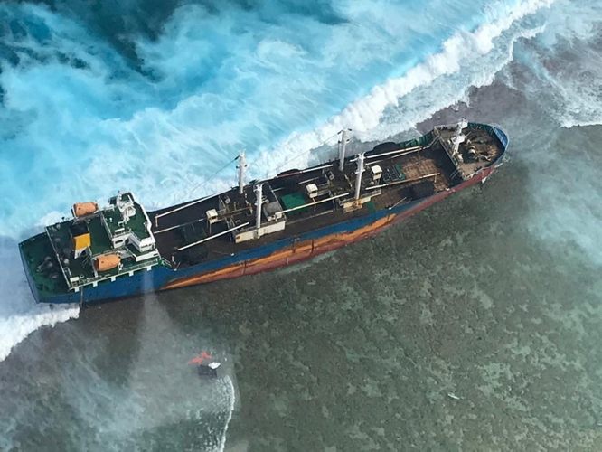(U.S. Coast Guard photo by HC-130 Hercules 1720/Released)