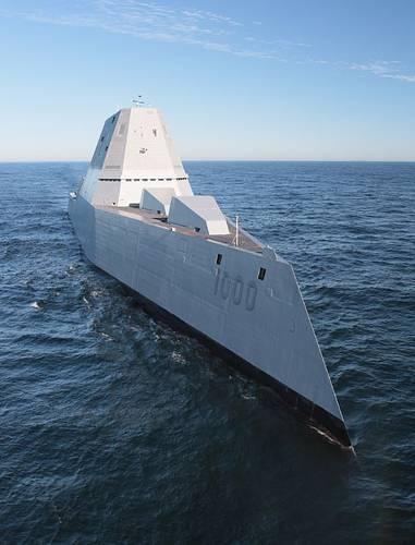 U.S. Navy photo courtesy of General Dynamics Bath Iron Works