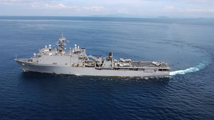 USS Fort McHenry (Photo courtesy of U.S. Navy)