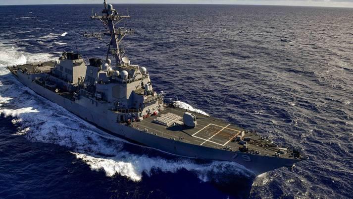 USS Oscar Austin (Photo: BAE Systems)