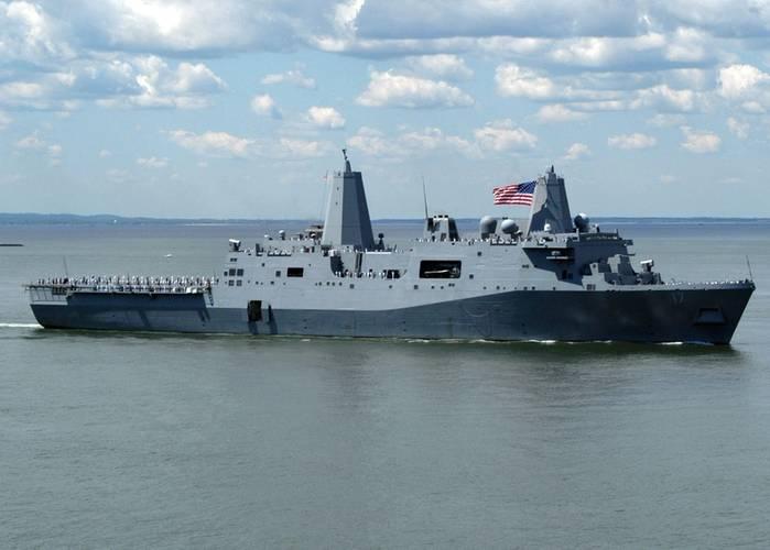 USS San Antonio (LPD-17). Source: U.S. Navy.
