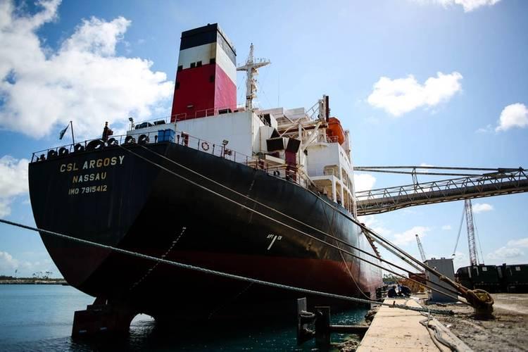 V Ships USA LLC Boston - CSL Argosy (Photo: Grand Bahama Shipyard)
