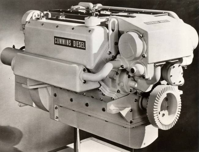 V504 engine (Photo: Cummins Darlington)