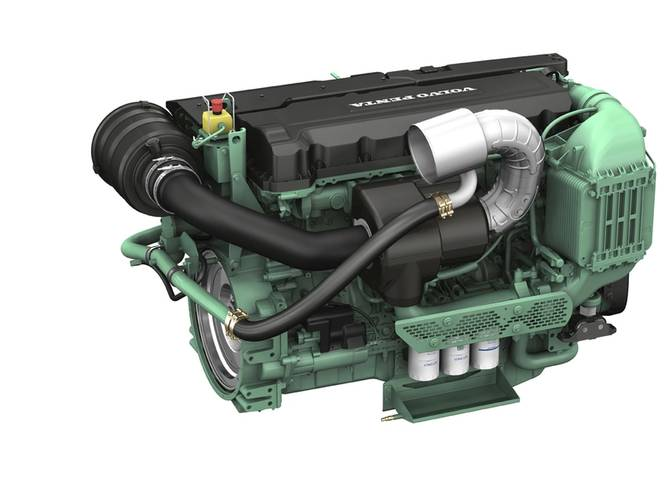 Volvo Penta's D13 engine is one of the engines that BUKH will adapt for its SOLAS range. (Image: Volvo Penta)