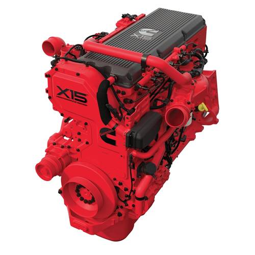 With a robust engine block designed for continuous-duty operation and long life, and a single cylinder head with four valves per cylinder, the Cummins X15 marine engine provides reduced fuel consumption without reduced performance. The X15, which can be used in both commercial and recreational marine applications, is available as a propulsion engine and as an auxiliary engine. (Photo: Cummins Inc.)