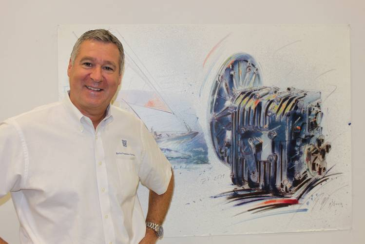 Wolfgang Schmid, Head of Marine Propulsion Systems Regional North America and Central America.