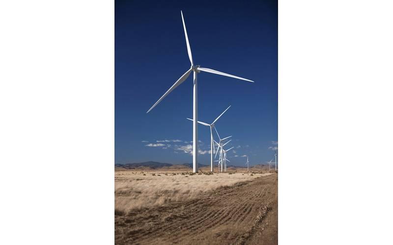 A typical land-based wind turbine. File Image: Credit Vestas