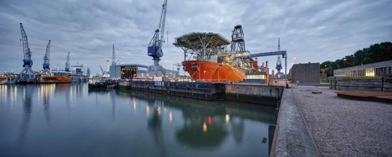 Photo: Damen Shiprepair Rotterdam