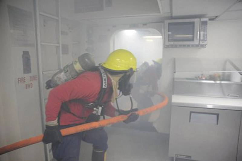 Maritime Firefighting Not Another Drill