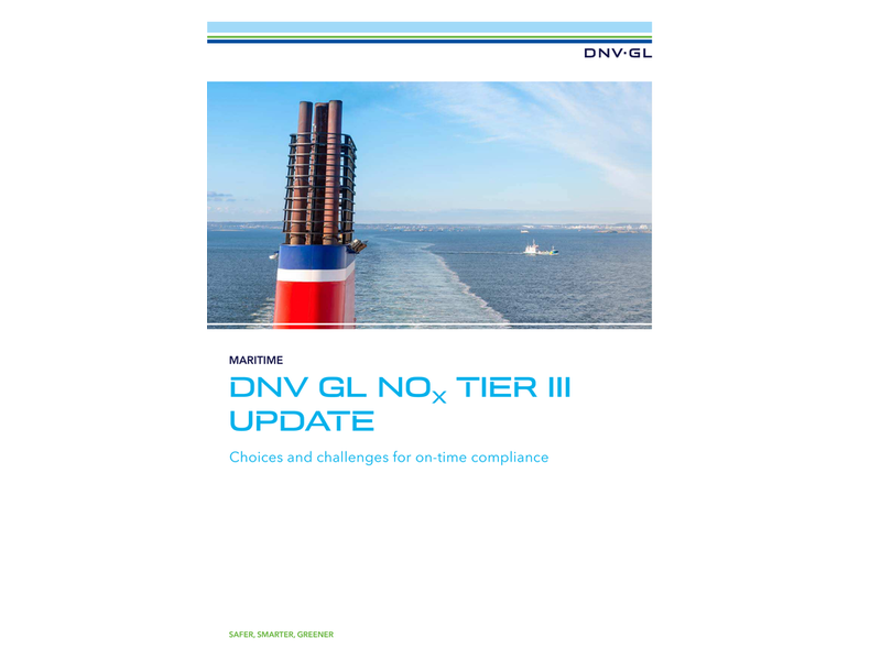 DNV GL Updates Nox TIER III Compliance Guide