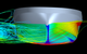 ART 80-32 hull in CFD side stepping test at 6 knots