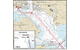 This excerpt of National Oceanic and Atmospheric Administration (NOAA) chart 12281 depicts the approach to the Cruise Maryland Terminal, South Locust Point, Baltimore Harbor, Md., via the Patapsco River. The red star denotes the accident location and the red line shows the track of the Carnival Pride as it proceeded to the berth on May 8, 2016. (NTSB graphic)