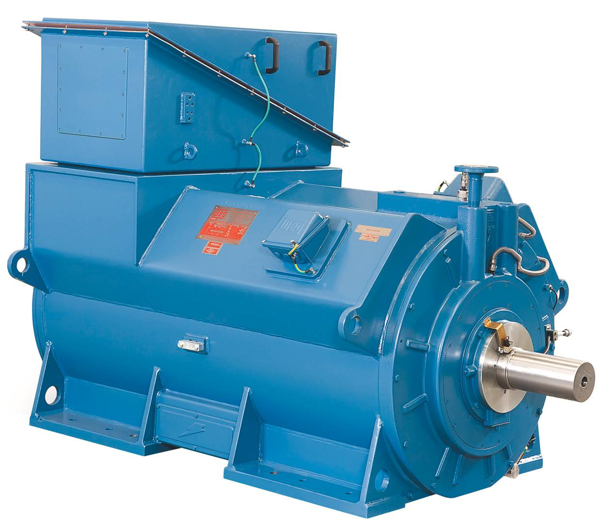 Water cooled WGM motors are particularly suitable for marine  #0C4879