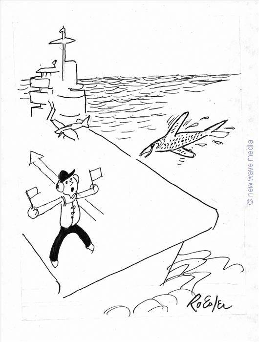 maritime reporter   75  the daily cartoon