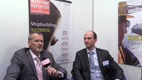 Maritime Reporter TV Interviews Sune Lilbaek, Maersk Fluid Technology