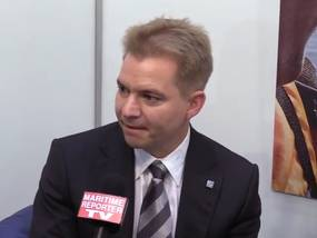 Maritime Reporter TV Interviews Dr. Christian Strahberger, CEO, Schottel