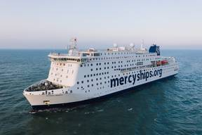 The Quest to Build 'Global Mercy'